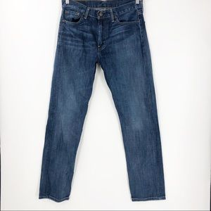 Levi Medium Wash 513 Denim Jeans 32 x 32 Straight